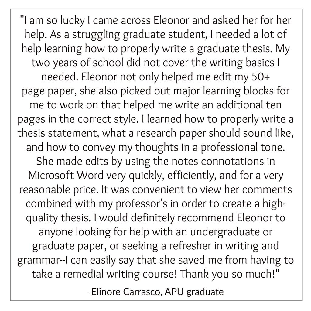 Elinore_Testimonial